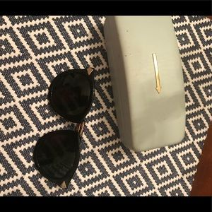 Karen Walker sunglasses and case